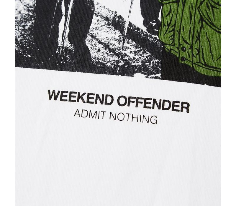 Weekend Offender Smiley t-shirt White