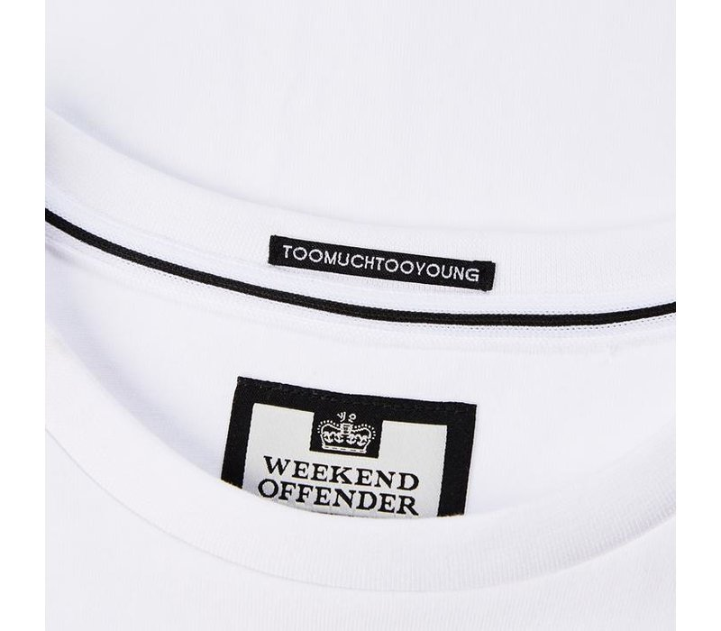 Weekend Offender Multi t-shirt White
