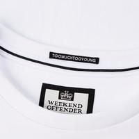 Weekend Offender Green Street t-shirt White