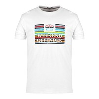 Weekend Offender Spines t-shirt White