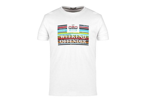 Weekend Offender Weekend Offender Spines t-shirt White
