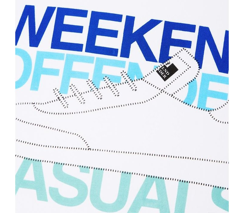 Weekend Offender Casuals t-shirt White