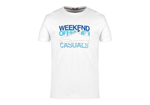 Weekend Offender Weekend Offender Casuals t-shirt White