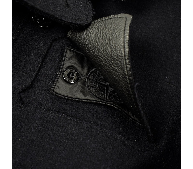 Stone Island shadow project double breasted performance wool pea coat XXL