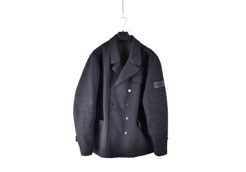 Stone Island Stone Island shadow project double breasted performance wool pea coat XXL