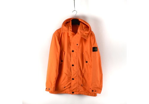 Stone Island Stone Island orange david fluo short parka L