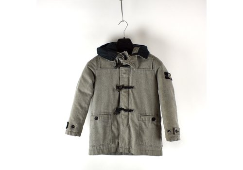 Stone Island Stone Island junior ice jacket wool blend parka age 8