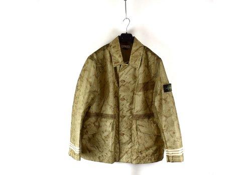 Stone Island Stone Island green monofilament camo jacket XL