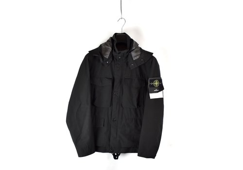 Stone Island Stone Island black packable gore-tex with paclite field jacket S