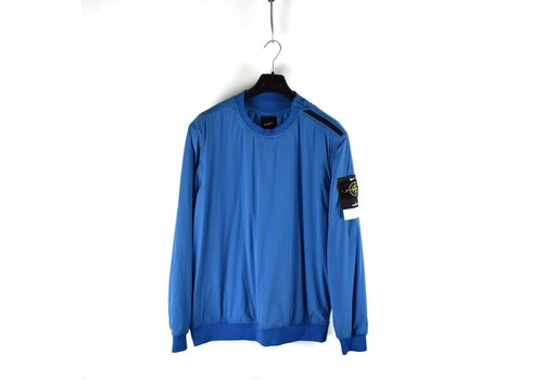 Stone Island Stone Island X Nike golf blue comfort tech composite crew neck XL