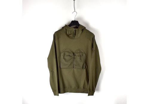 Stone Island Stone Island green ghost piece hooded sweatshirt M