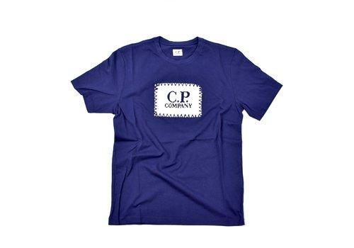 C.P. Company C.P. Company jersey 30/1 label print crew t-shirt Blueprint