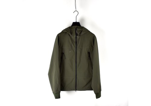C.P. Company C.P. Company shell goggle jacket Forest Night