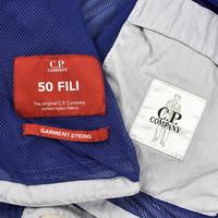 C.P. Company 50 fili lens detail overshirt Halogen Blue