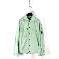 C.P. Company 50 fili lens detail overshirt Mint Green