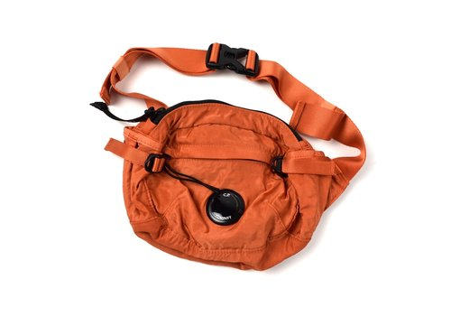 C.P. Company C.P. Company gd nylon sateen lens waist bag Orange