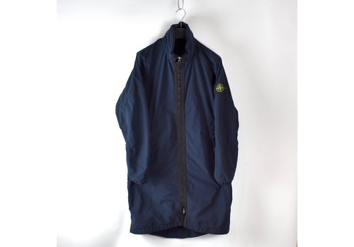 Stone Island Stone Island navy david light-tc with micropile trench coat L