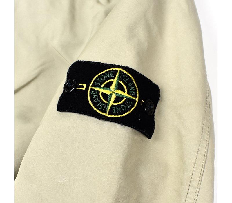 Stone Island beige microfiber trench coat XL
