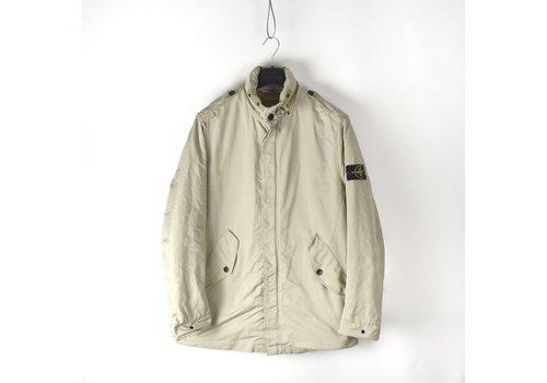Stone Island Stone Island beige microfiber trench coat XL