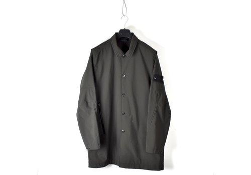 Stone Island Stone Island grey monochromatic ghost 5l poliestere trench coat XXL