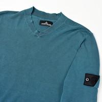 Stone Island shadow project green crew neck knit XL