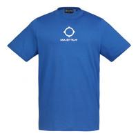 MA.STRUM SS archive logo print tee Vibrant Blue