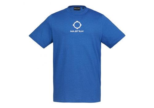 MA.STRUM MA.STRUM SS archive logo print tee Vibrant Blue