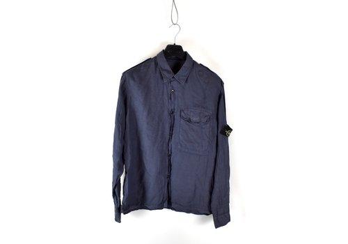 Stone Island Stone Island grey linoflax longsleeve shirt XXL