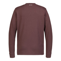 MA.STRUM LS icon tee Cordovan Red