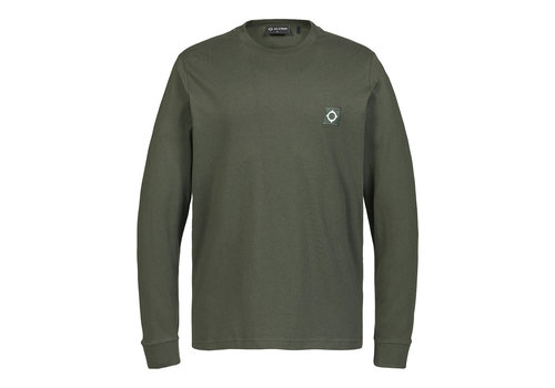 MA.STRUM MA.STRUM LS icon tee Oil Slick Green