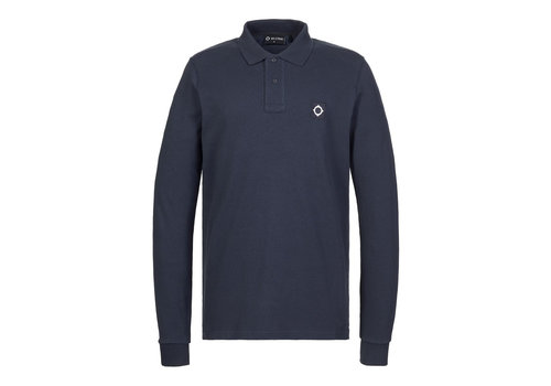 MA.STRUM MA.STRUM LS pique polo True Navy