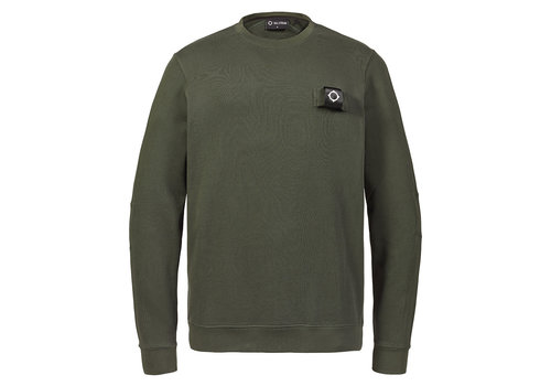 MA.STRUM MA.STRUM training crew Oil Slick Green