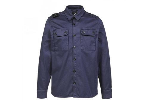 MA.STRUM MA.STRUM two pocket overshirt True Navy