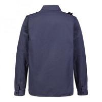 MA.STRUM zip front overshirt True Navy