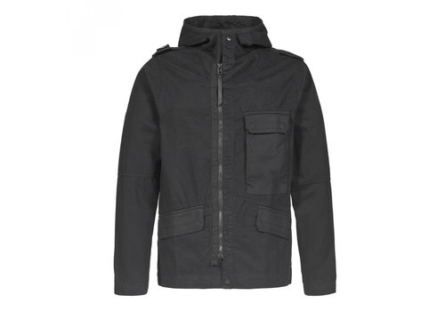 MA.STRUM MA.STRUM cg hooded jacket Jet Black