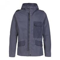 MA.STRUM cg hooded jacket True Navy