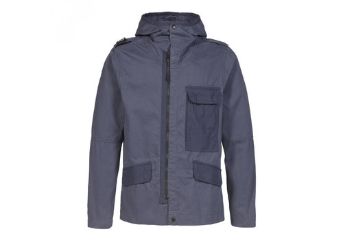 MA.STRUM MA.STRUM cg hooded jacket True Navy