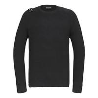 MA.STRUM Milano knit crew neck Jet Black