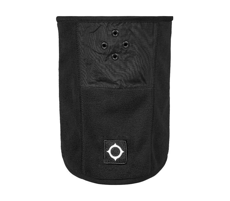 MA.STRUM velo fleece neck gaiter Jet Black