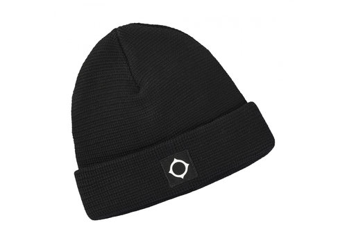 MA.STRUM MA.STRUM Milano knit hat Jet Black