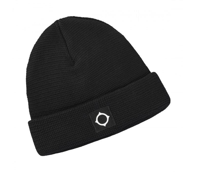 MA.STRUM Milano knit hat Jet Black