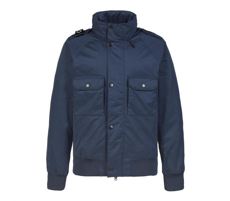 MA.STRUM bomber jacket True Navy