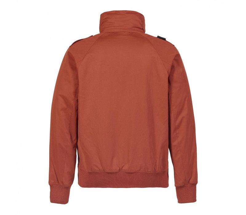 MA.STRUM bomber jacket Burnt Orange