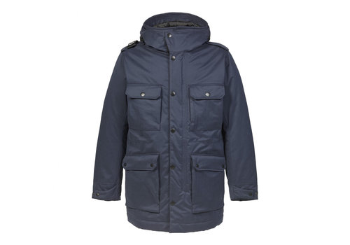 MA.STRUM MA.STRUM hooded parka True Navy