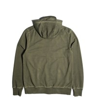 Peaceful Production stadium hoodie Olive Green