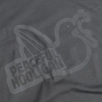 Peaceful Hooligan Outline t-shirt Iron Gate Grey