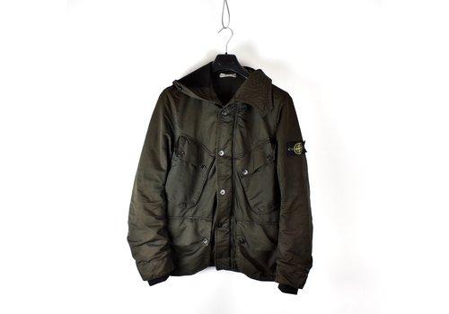 Stone Island Stone Island brown david microfiber hooded field jacket L