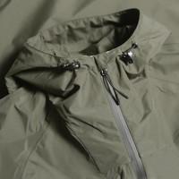 Peaceful Hooligan Sandiwell technical jacket Khaki Green