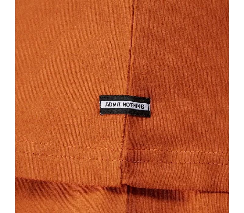 Weekend Offender Sipe Sipe t-shirt Cinamon Orange