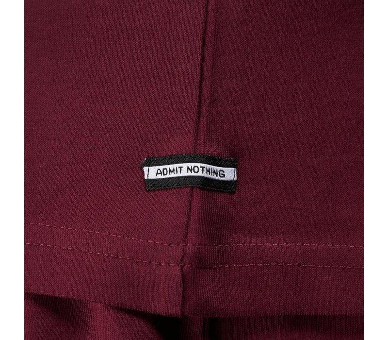 Weekend Offender Sipe Sipe t-shirt Burgundy Red